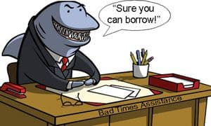 I need a loan shark